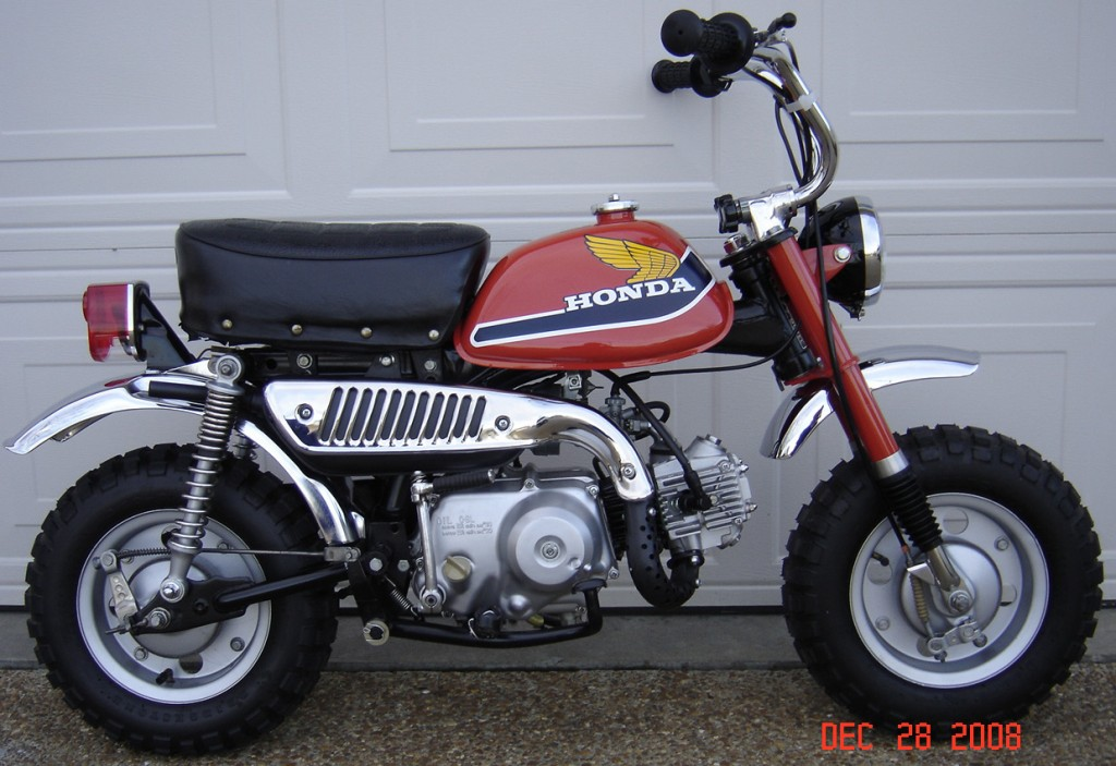 Honda Z50  A  K2  Ak3  K4  K5  Motorcycle Service  U0026 Repair